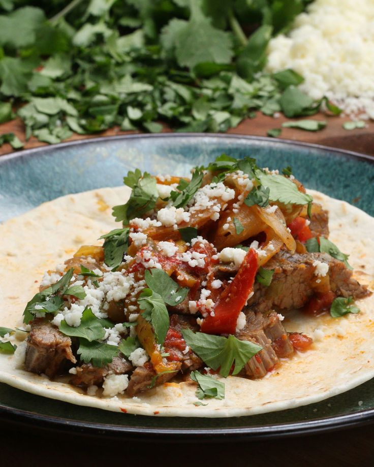 Fight away your hunger with these fajitas.