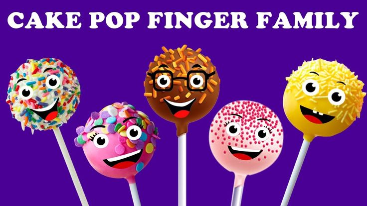 Cake Pop Finger Family Collection | Finger Family Songs | Daddy Songs