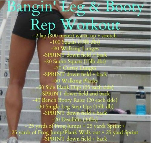 Bangin' Legs and Booty **WORKOUT**