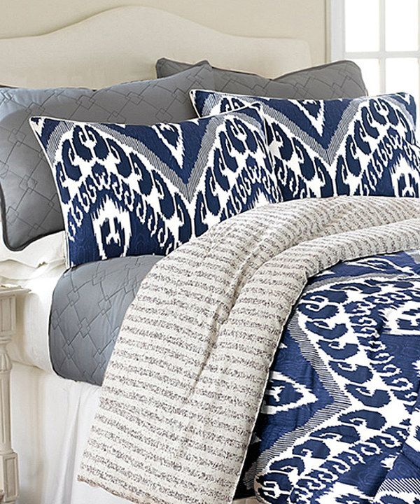love this reversible lydia comforter set by colonial home textiles on zulily zulilyfinds