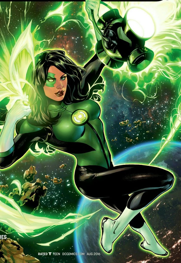 Green Lantern rookie Jessica Cruz