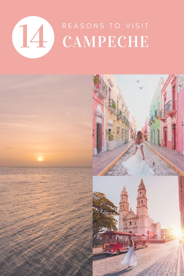 You Need to Visit Campeche: Here's Why | Mexiko urlaub ...