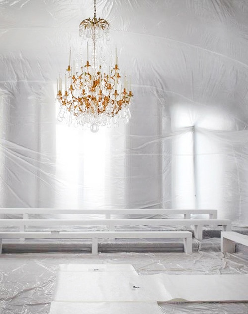 17 best images about Chandeliers – White Plastic Chandelier