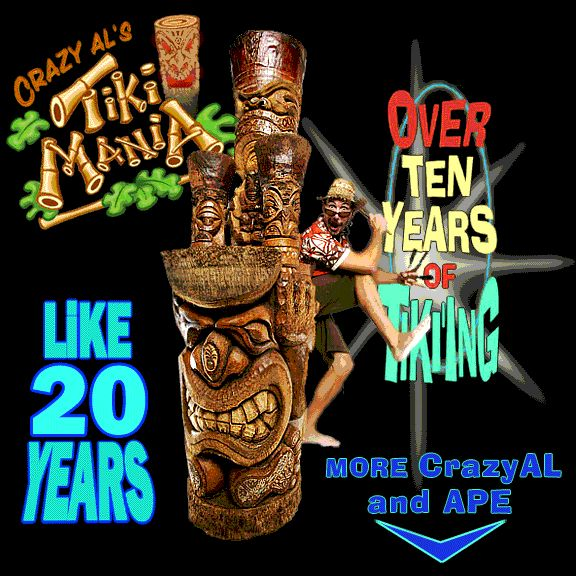 Inspiration Photo Tiki Hut: Crazy Al's Mugs And Carved Tiki