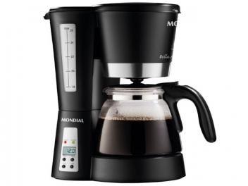 Cafeteira Elétrica Mondial C  26 Xícaras - Preto com as melhores condições você encontra no Magazine Shopspremium. Confira!