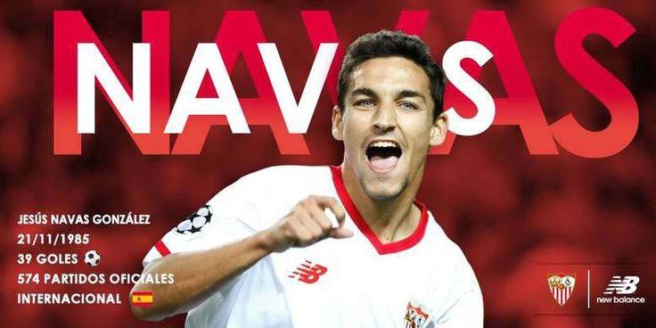 ¡Regresó a casa! Jesús Navas cerró su fichaje por el Sevilla FC #Deportes #Fútbol