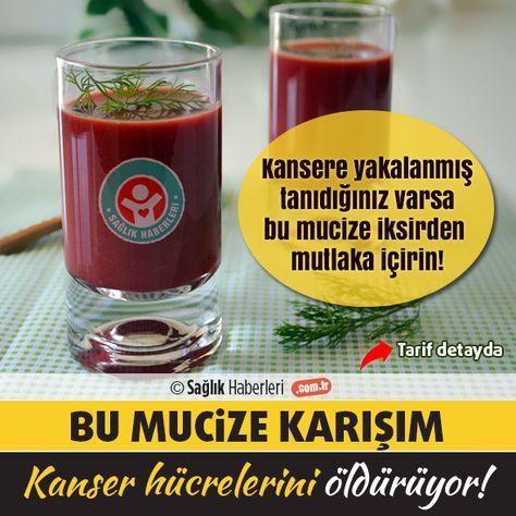 Bu mucizevi içecek kanseri önlüyor ve 3 ayda kanser hücrelerini öldürüyor! Bu mucizevi içecek vücuttaki #kanser hücrelerinin büyümesini durdurduğu gibi kanser oluşumunu da önlüyor! Kansere yakalanmış tanıdığınız varsa mutlaka bu bitkisel tarifi önerin..#sağlık #saglik #sağlıkhaberleri #health #healthnews