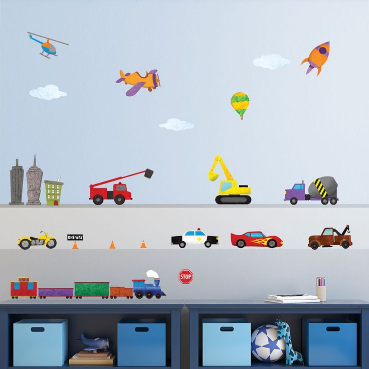 Best City Wall Stickers Ideas On Pinterest Wall Sticker - Boys car wallpaper designs