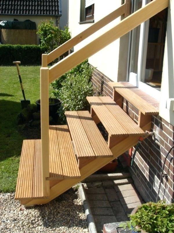Outdoor Treppen Design Dekoration Ideen Aussentreppe Aussentreppe Bauen Treppe Selber Bauen