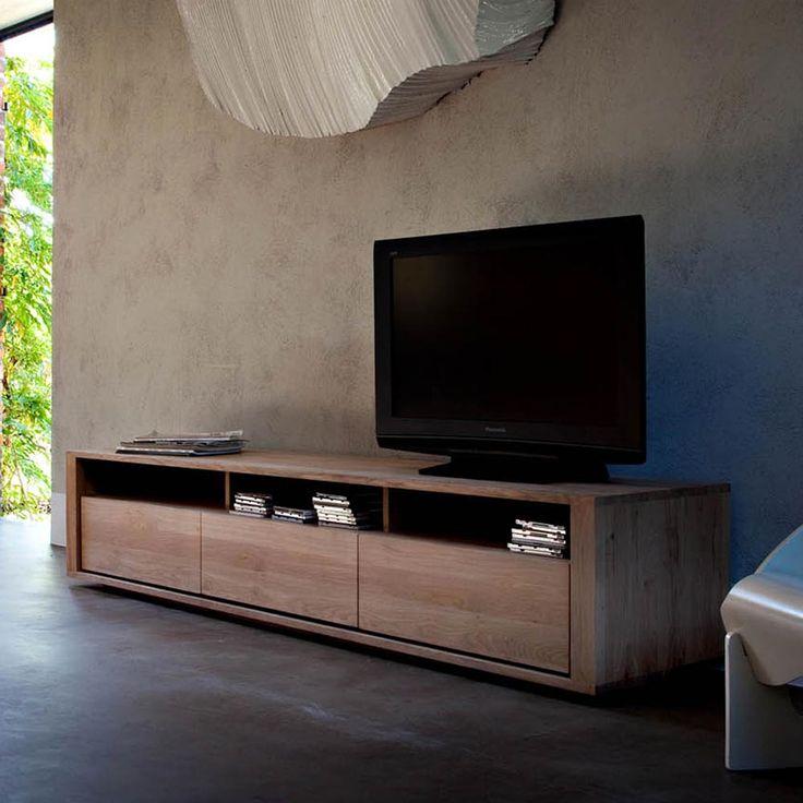 Shadow oak TV units