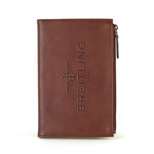 Mason Notebook! PU split leather outer with suede inner cover and notebook. Larg...