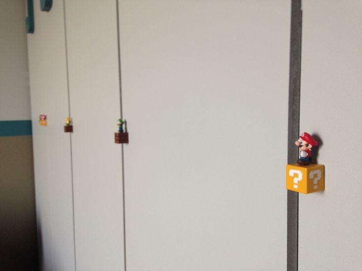 Boutons de portes enfants Mario