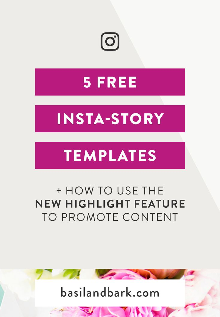 Get 5 FREE Instagram story templates and start driving traffic to your content today by using Instagram's new Highlights feature in a strategic way! Use these templates to promote your blog post, your opt-in or lead magnate, or your passive income product on your Instagram profile. | #socialmedia #instagramstories #instagram #instagramhighlights #freebies #templates #growyourgram