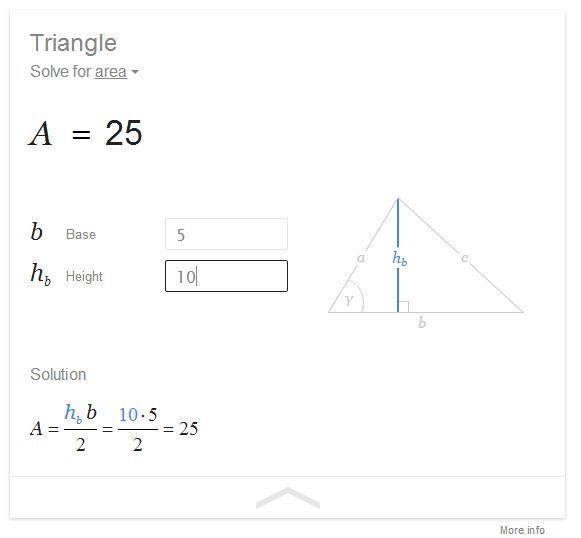 Googles Websuche kann jetzt auch geometrische Anfragen lösen