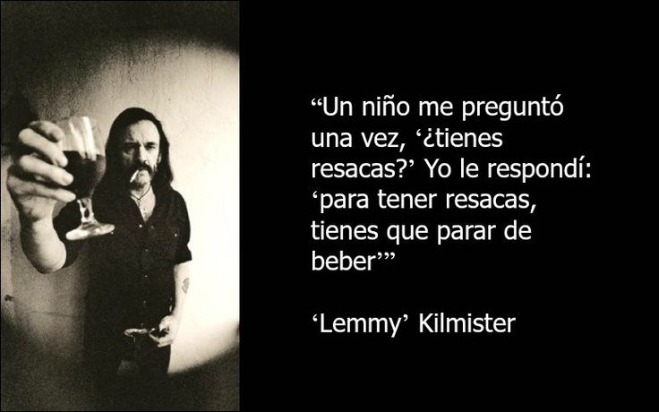 10 frases impagables que nos deja 'Lemmy' Kilmister, de Motörhead