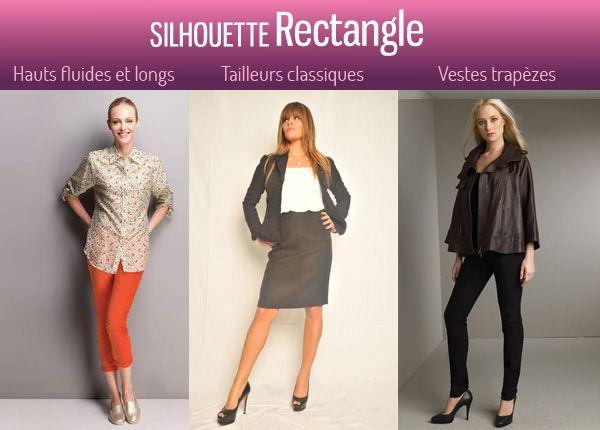 Comment s'habiller lorsqu'on on a une silhouette rectangle ou en H ?