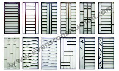 Grill design 400 239 home doors and gate - Herreria ark ...