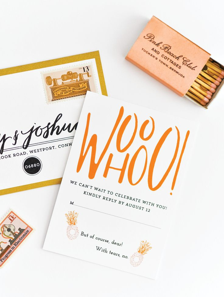 7 best images about fun rsvps on pinterest cards typography and