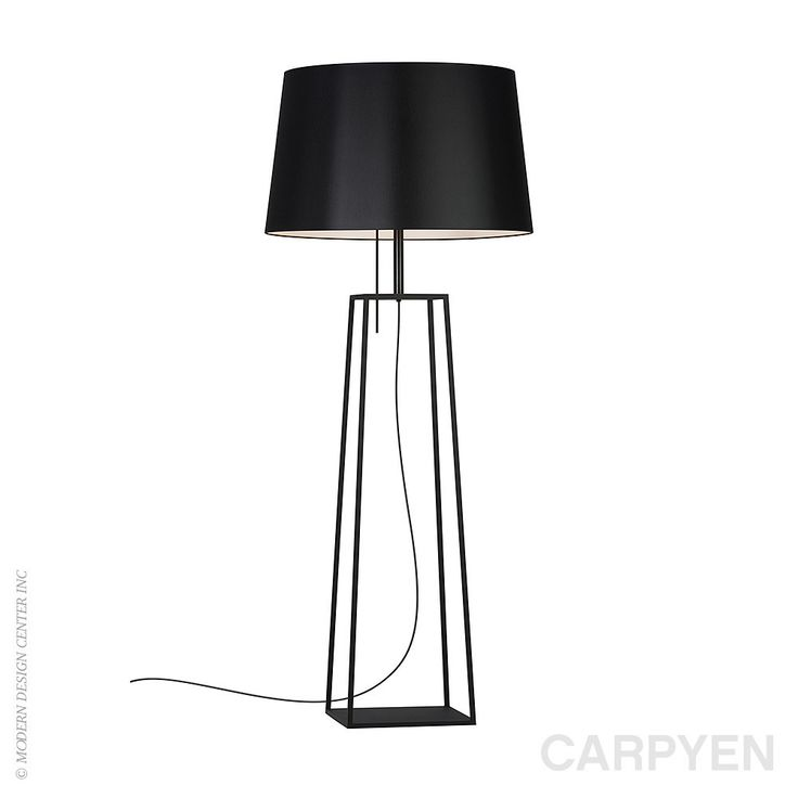Carpyen Tiffany Floor Lamp #black design available at LoftModern.com