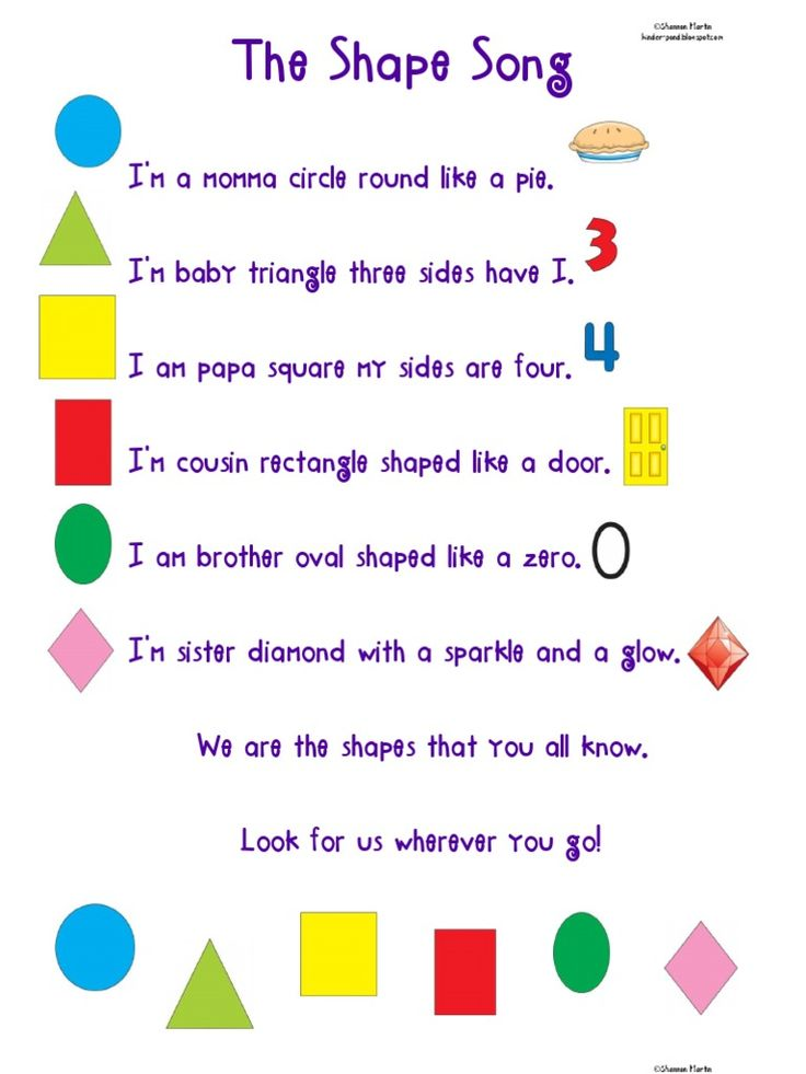 The Shape Song Free download as PDF File (.pdf), Text