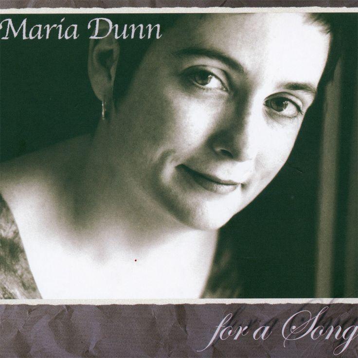 """Album design Maria Dunn """"For a Song"""" European release"""