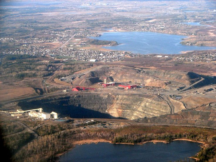 Dome Mine underground and a central milling facility   within the city of Timmins, Ontario.