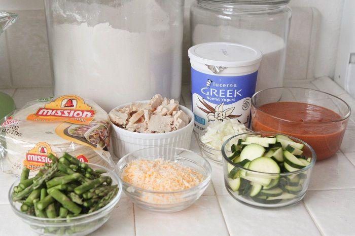 homemade enchilada sauce and chicken enchiladas