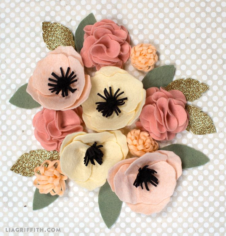 17 best ideas about felt flower tutorial on pinterest for Diy felt flower mobile