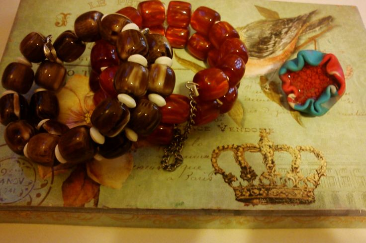 bracelets and ring handmade my ArtePovera