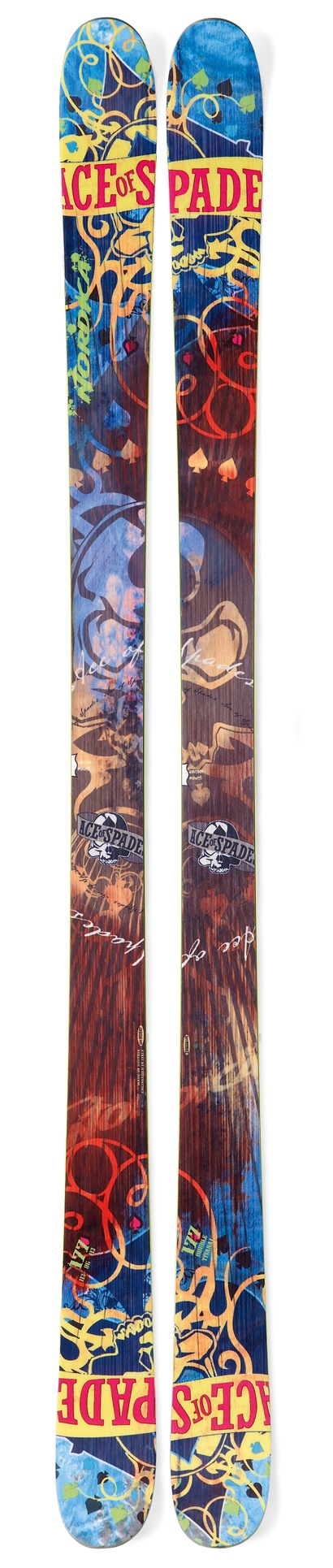Nordica ace of spades park and pipe skis
