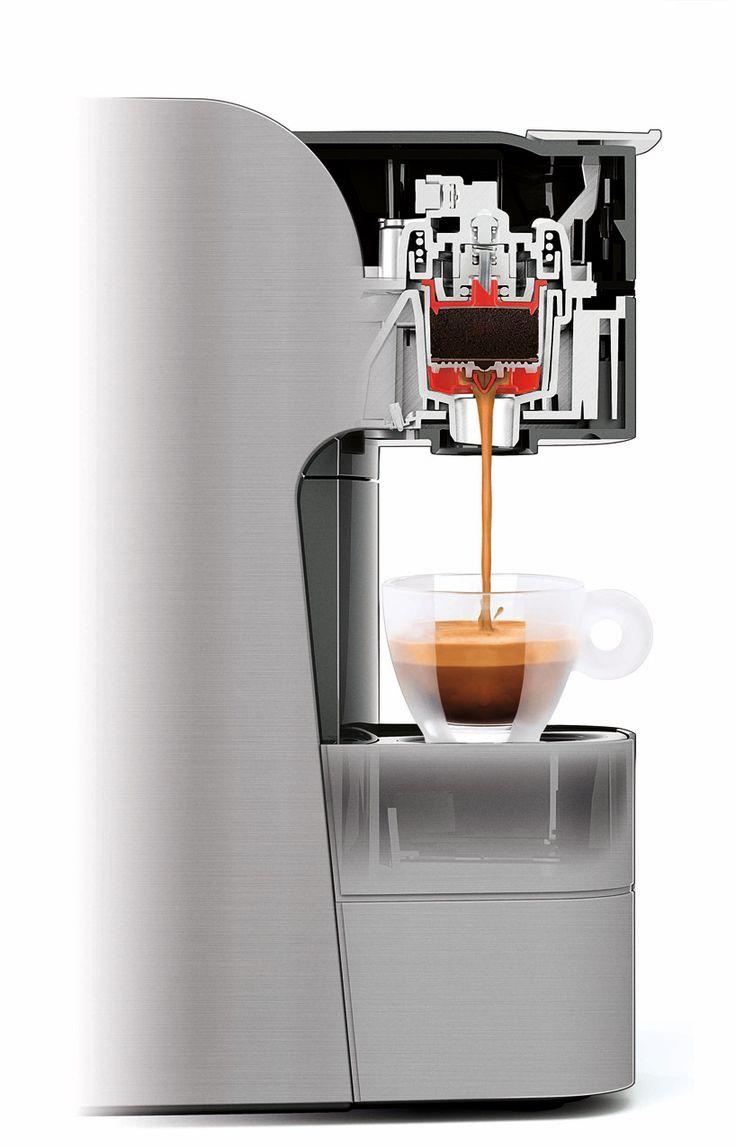 Designboom Coffee Maker : illy hotpoint espresso maker series: Coffee Machine, Design Magazine, Coffee Maker Watches ...