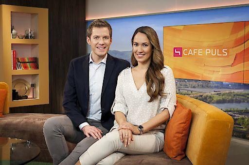 """Die Pioniere feiern das Frühstücksfernsehen ab 29. März - die Highlightwoche in """"Café Puls"""" auf PULS 4"""