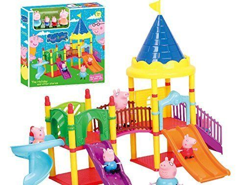 Peppa Pig's Playground Sets $33