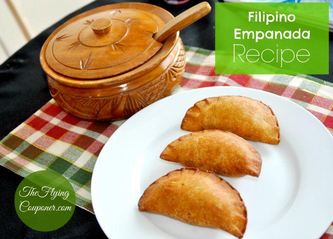 Easy Filipino Empanada Recipe. Filipino food with meat. Asian recipes. The Flying Couponer | Family. Lifestyle. Savings.