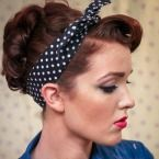 freckled-fox.com blogger has amazing hair tutorials- this 40's style, other decade styles, and very cute day to day styles