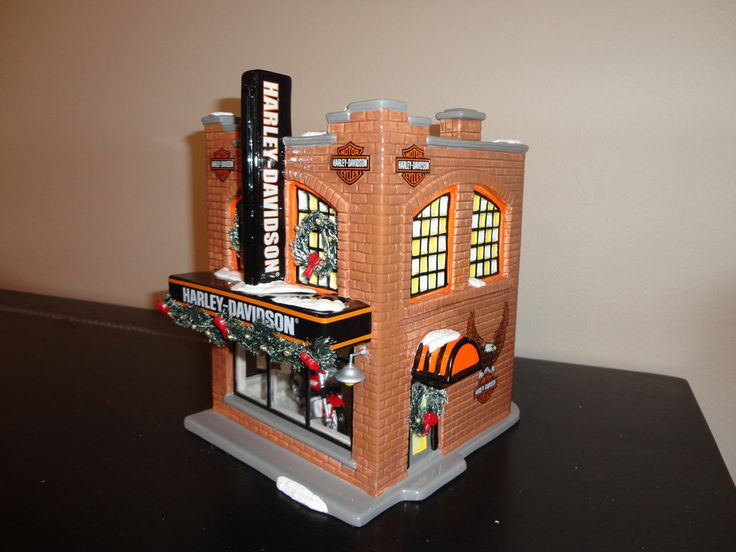 harley davidson home decor products 165 best diecast h d images on department 56 12172