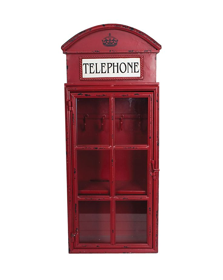 telephone box cupboard