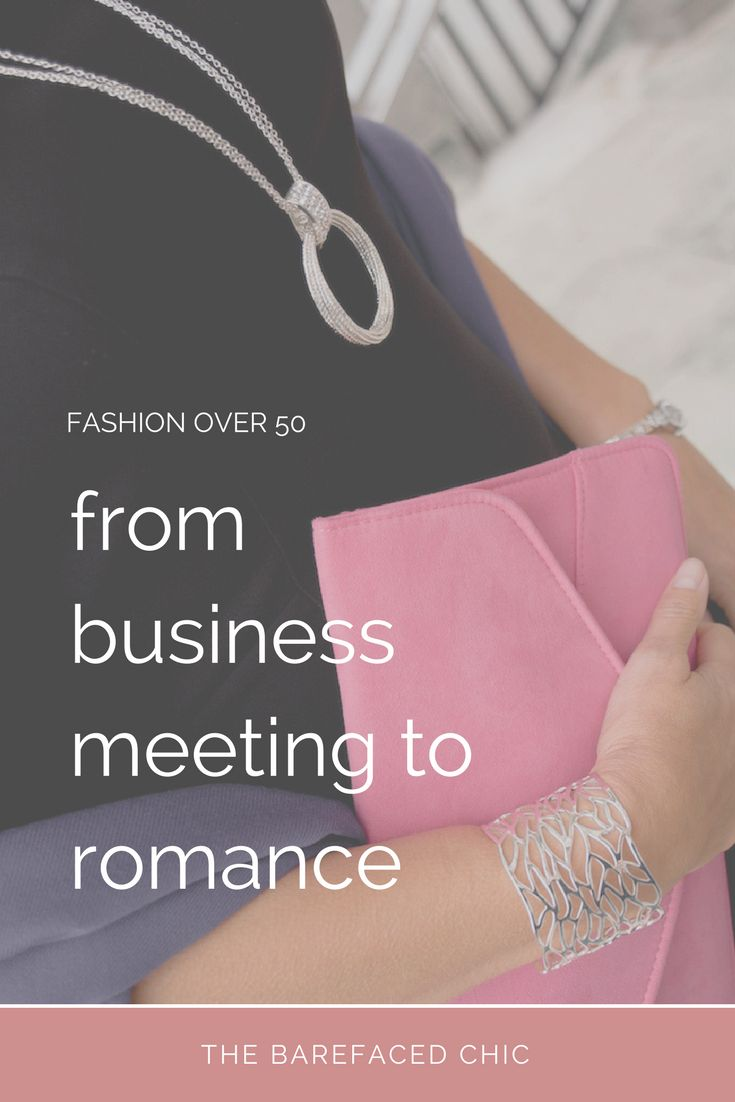 What to wear to go from a business meeting to a romantic liaison. Helpful and effective tips to transition from work wear to evening wear without changing outfits. via @Barefaced_Chic
