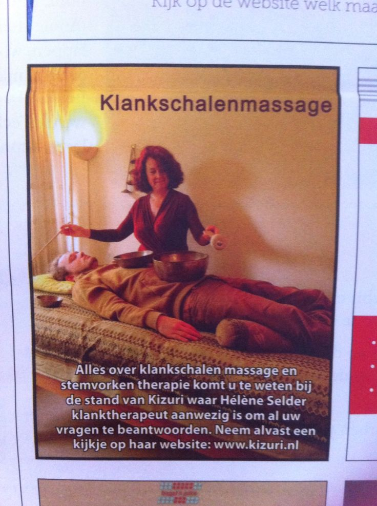 Klankschalenmassage bij Hélène Selder In Eindhoven
