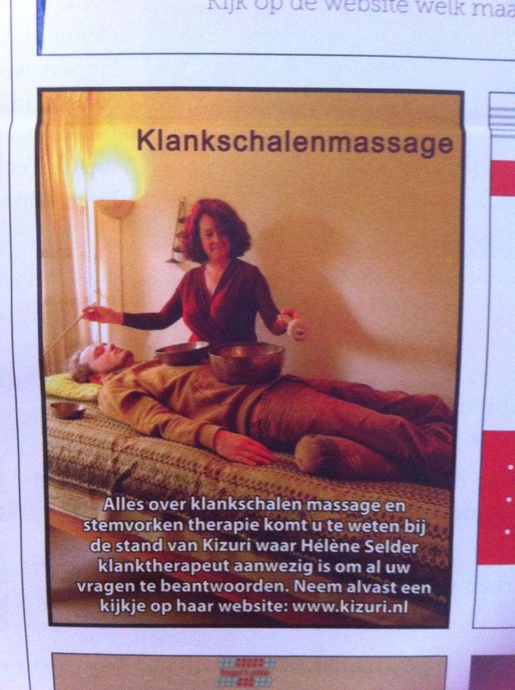 Klankschaal massage bij Kizuri Eindhoven