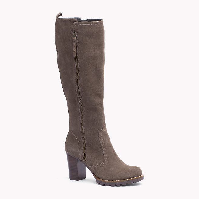 Tommy Hilfiger Suede Boot - mink (Brown) - Tommy Hilfiger Shoes - main image