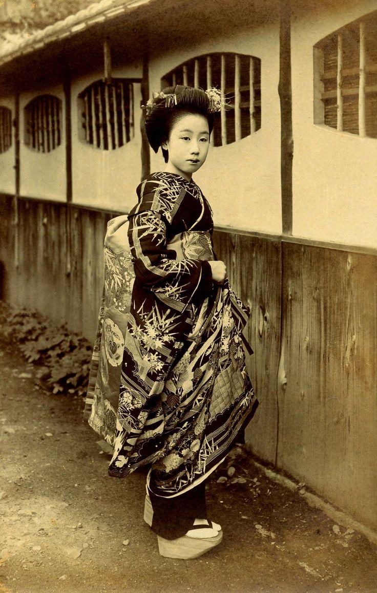 Maiko dans les années 1920