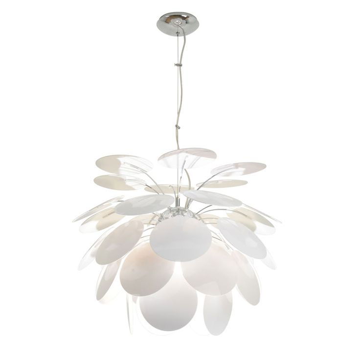 Lilly pendant by lightology collection lilly s 21 wh pendant light fixturespendant