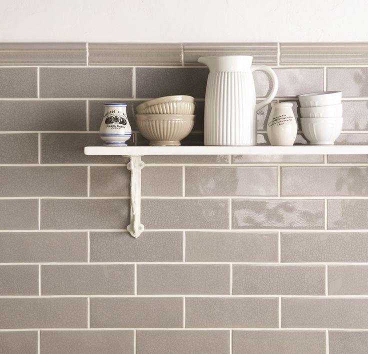 Brick Flooring Kitchen: Dunwich Crackle Brick Tiles In A Gorgeous Grey Shade