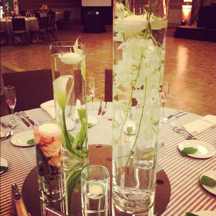 Floating Petals Centerpieces: 1000+ Ideas About Floating Flower Centerpieces On