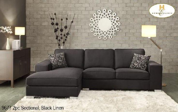 Meubles Loren A Montreal Et Sur La Rive Sud Vous Fait Decouvrir S Black Contemporary Living Room Contemporary Living Room Apartment Black Furniture Living Room