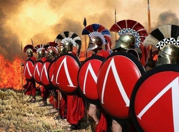 Arte Helenica De Gustavo Dante Historia Antiga Espartano Soldados