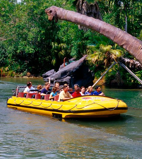 Jurassic Park River Adventure - Universal's Islands Of Adventure in Florida