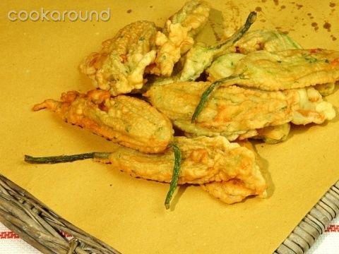 Frittelle di fiori di zucca: Ricetta Tipica Sardegna