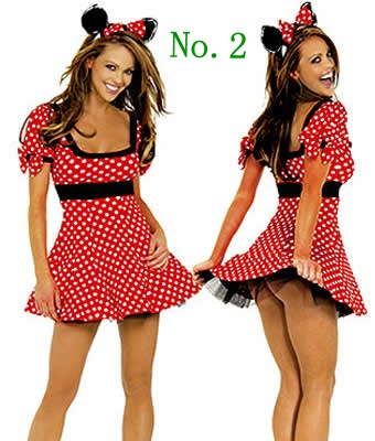 $18.99 Sexy Minnie Mickey Mouse Adult Party Womens Fancy Dress Up Costume Outfit M L XL | eBay